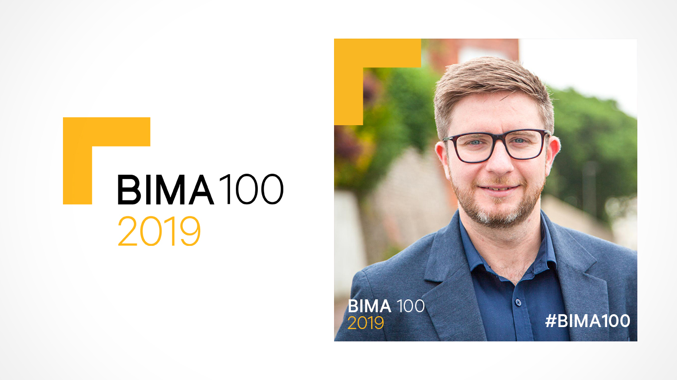 Sam Fenton-Elstone in BIMA 100